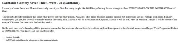 Southside Wild Berry Gummy Saver Thief